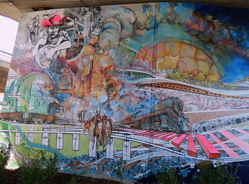 post flood art and memory along the bow river calgary wall murals calgary custom printed wallpaper calgary wall